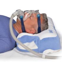 Contour CPAP-Kissen bei liege in Rückenlage