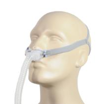 ResMed AirFit P10 CPAP-Nasenpolstermaske von unten