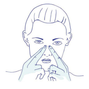 Nase von innen geschwollen